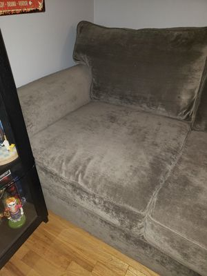 2 pc artemis couch with chaise for Sale in Bayonne, NJ