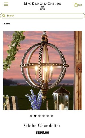 2 Globe Chandelier for Sale in Port St. Lucie, FL