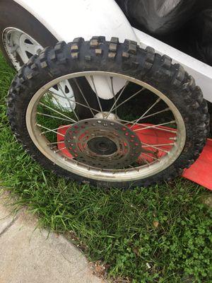Honda cr80 dirt bike wheel for Sale in Fontana, CA