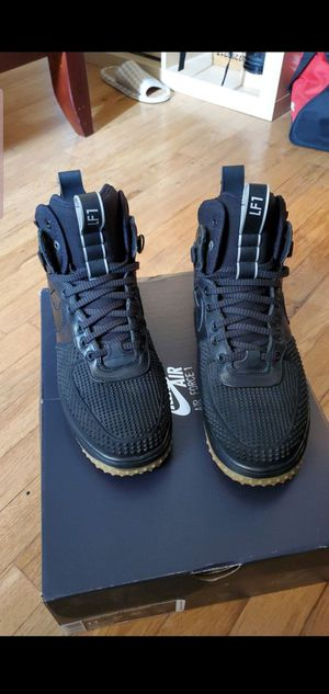 Nike Air Force 1 duckboot shoes for Sale in Staten Island, NY
