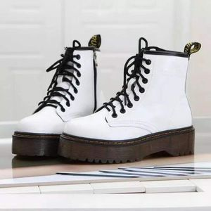 Dr. Martens journey IMITATION white boots winter fall black boots for Sale in Miami, FL