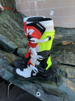 Dirt bike boots for Sale in Rancho Cucamonga, CA