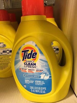 Tide Liquid Detergent for Sale in Houston, TX