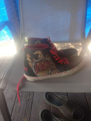 Vans off the wall slayer shoes for Sale in Banning, CA