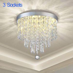 3-Lights Flush Mount Crystal Chandelier for Bedroom, Hallway, Bathroom, Kitchen or Bar for Sale in Henderson, NV