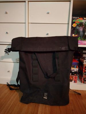 Chrome Two-Strap Rolltop black bag for Sale in Chicago, IL
