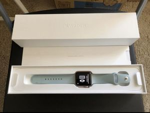 Apple Watch Series 2 Rose Gold 42mm with Turquoise Sport Band for Sale in Henderson, NV