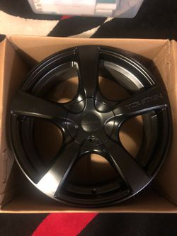 Touren TR9 Matte Black Wheels for Sale in Kirkland,  WA