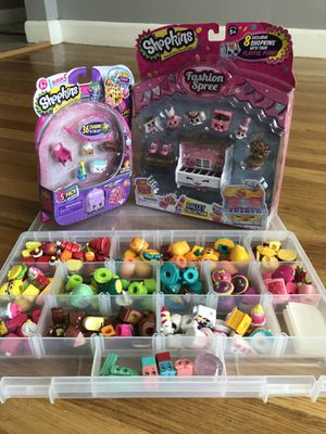Shopkins - early seasons. Over 100pc. for Sale in Leominster, MA