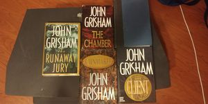 John grisham hardback book lot for Sale in Montesano, WA