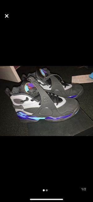 Air Jordan Retro 8, Kids Size 6 for Sale in Pemberton, NJ