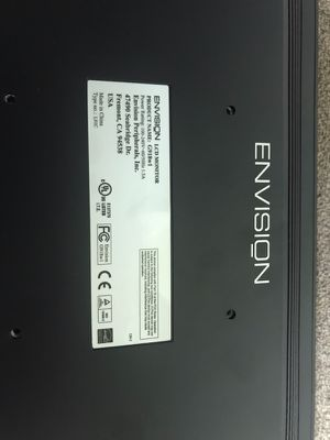 "Envision, LCD, 19"", VGA and DVI for Sale in Chantilly, VA"