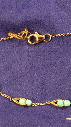 14k Gold Tacori Necklace, Earring, & Bracelet Set for Sale in Columbia,  TN