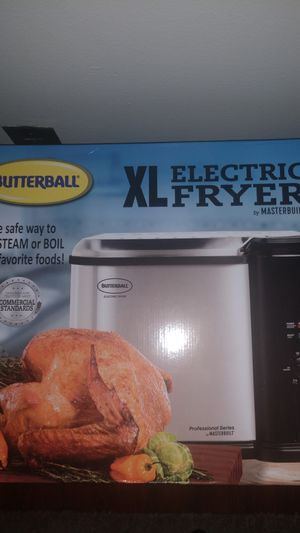 Butterball Xl Electric Fryer by masterbuilt for Sale in Cleveland, OH