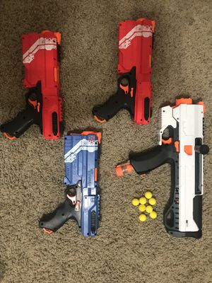Nerf Guns rival series w/ extra bullets for Sale in Chico, CA