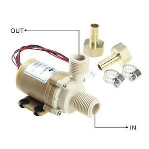 Quiet 12V DC 212°F Hot Water pump brand new for Sale in Chelsea, MA