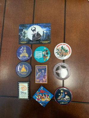 Disney - Button/Pins (Bag #7) for Sale in Davenport, FL