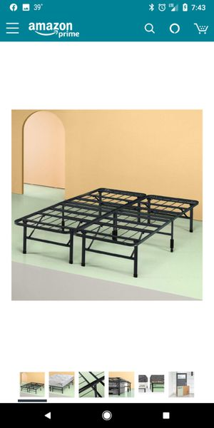 Brand New!! FULL SIZE, 14 Inch SmartBase Mattress Foundation / Platform Bed Frame / Box Spring Replacement / Maximum Under-bed Storage for Sale in Batavia, OH