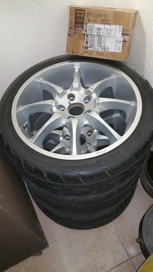 Momo Rims Fits Acura RSX for Sale in Coral Springs, FL
