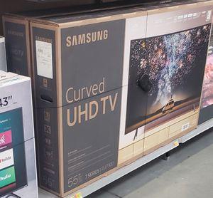 "UN55RU7300FXZA 55"" SAMSUNG UHD CURVED 4K SMART for Sale in San Bernardino, CA"