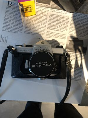 Pentax 35mm camera with accessories for Sale in Portland, OR