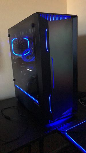 Gaming PC Liquid Cooled Ryzen 7 2700x , GTX 1070ti for Sale in Meridian, ID