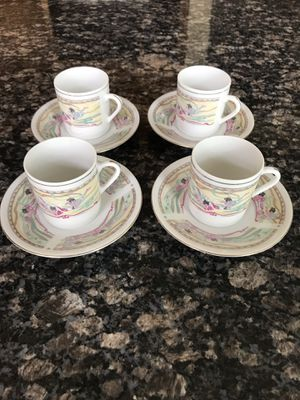 4 Turkish Coffee Cups for Sale in Alexandria, VA