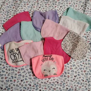 FREE Baby Girl Bibs for Sale in Colton, CA
