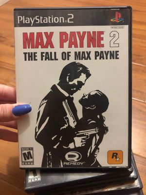 Max Payne 2 the fall of max Payne ps2 for Sale in Miami, FL