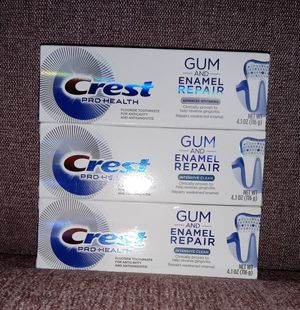 3- Crest Pro Health Gum and Enamel Repair for Sale in Florissant, MO