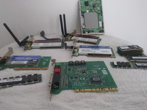 4 wireless computer adapters and sticks for Sale in Independence, MO