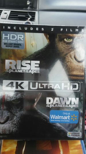 Planet of the apes 2 film collection 4k for Sale in Dallas, TX