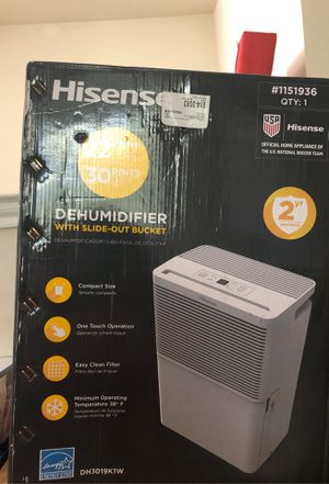 Hisense dehumidifier for Sale in Plano, TX