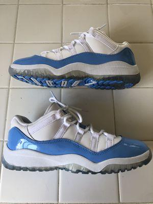 VNDS Nike air Jordan 11 retro UNC White blue shoes (youth kids boys 3Y) for Sale in El Cajon, CA