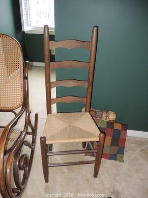 Ladder back side chair - 4 rungs for Sale in Reston, VA