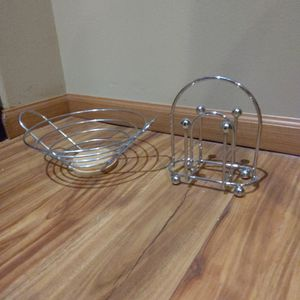 Fruit Basket And Napkin Holder for Sale in Redmond, WA