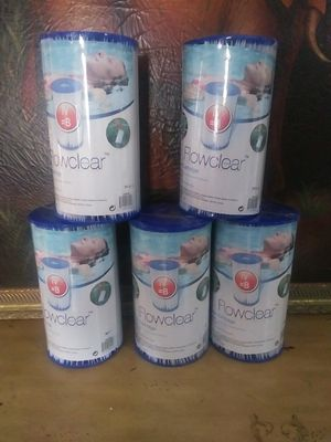 Flowclear one filter cartridge (IV)110-120V -2.500.gal .(9.463 L)per hour filter pums is new $50 for Sale in Fort Myers, FL