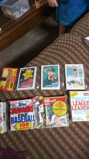 Top and Fleer baseball cards 1987 brand new in box for Sale in Lawrenceville, GA