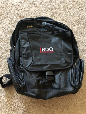 Laptop backpack with strap (for over the shoulder) for Sale in Alameda, CA