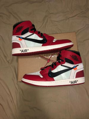 Jordan 1 Retro High Off-White Chicago for Sale in Albany, NY