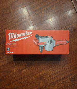 Milwaukee 7.5 Amp 1/2 in. Hole Hawg Heavy-Duty Corded Drill for Sale in Elk Grove, CA