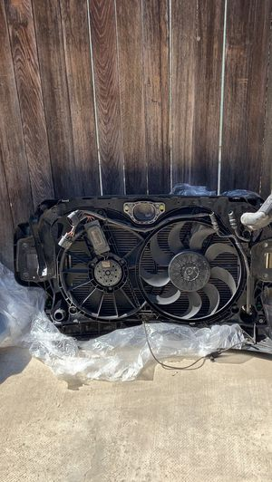 2008 audi a6 parts I have the radiator and condenser and hood for Sale in Riverside, CA