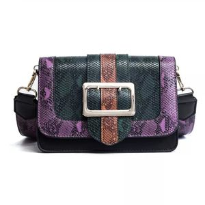 Brand New High Quality New women's Messenger Bag Snakeskin Pattern Color Block bag for Sale in Smyrna, TN