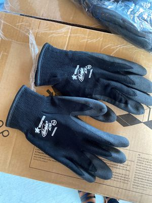 Fishing gloves - Ninja Ice black nylon with acrylic terry interior for Sale in Glendale, AZ
