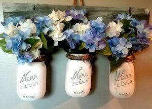 Mason Jar Wall Vases for Sale in Murfreesboro, TN