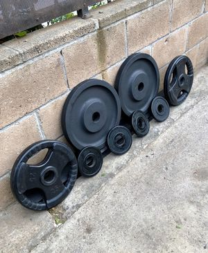 Olympic weights 35s,25s and 2.5s for Sale in Gardena, CA