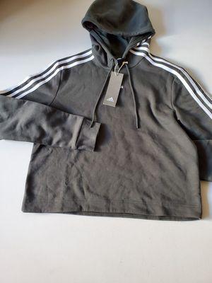 Adidas women 3 Stripe hoody medium for Sale in Seattle, WA
