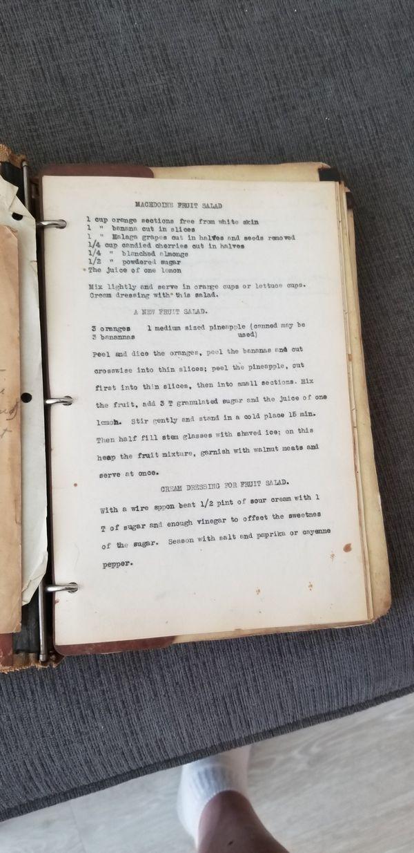 Ww1 Era Cook Books