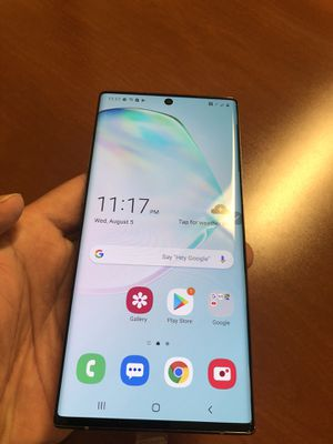 Samsung Galaxy Note 10+ 256 GBs BRAND NEW for Sale in Ontario, CA