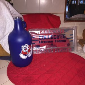 New License Plate And Used Bulldog Jug for Sale in Fresno, CA